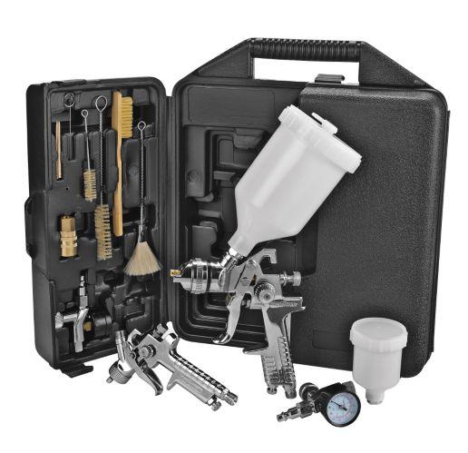 Mastercraft HVLP Air Spray Gun Set, 36-pc