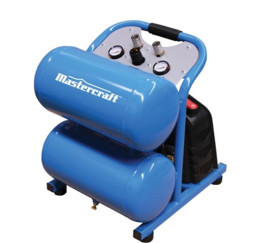 Mastercraft 5 Gallon Air Compressor, 1.5-hp