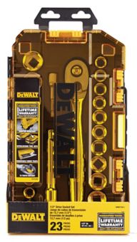 DEWALT Tough Box Drive Socket Set, 23-pc | Canadian Tire