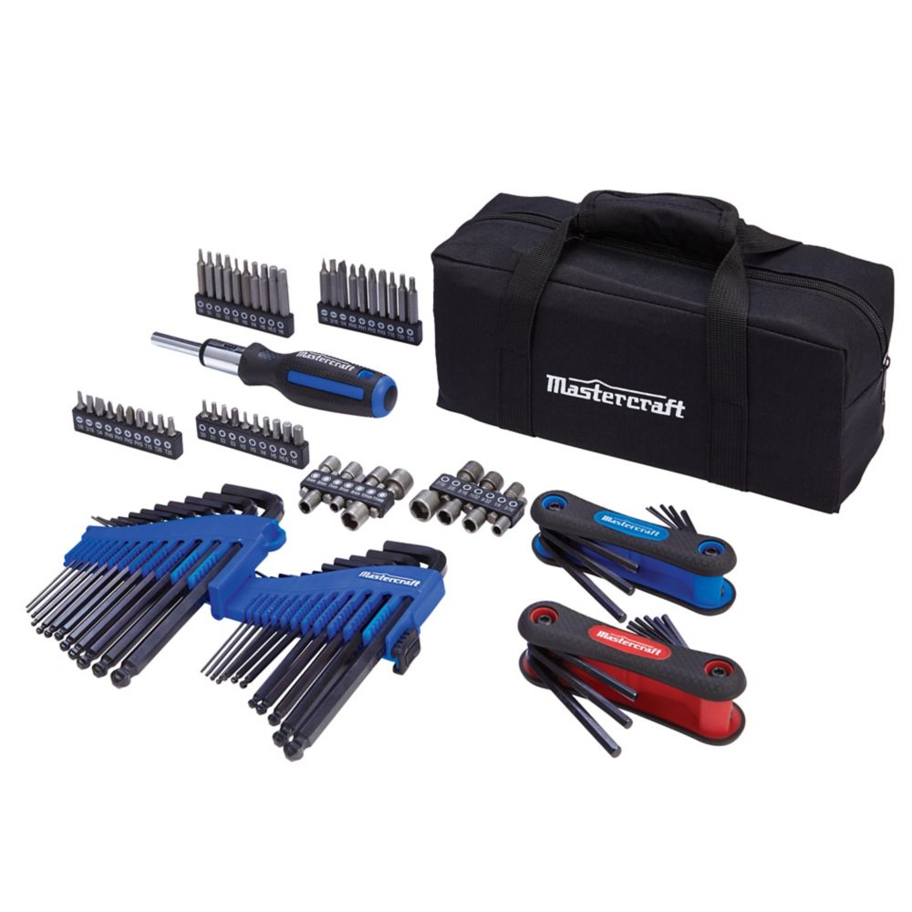 Mastercraft Hex Key Set, 98-pc
