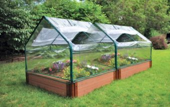 PVC Soft-Sided Greenhouse Kit