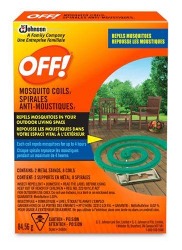 Spirales anti-moustiques OFF! Image de l'article