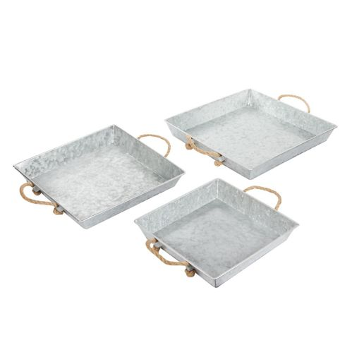 CANVAS Galvanized Tray Set, 3-pc Product image