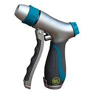 Yardworks Dry Seal Front-Trigger Adjustable Watering Pistol Nozzle