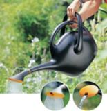 Easypour Watering Can, Black, 2.6-Gallon | Bloemnull