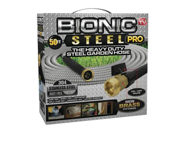 Bionic Stainless Steel Garden Hose, 50-ft Product image
