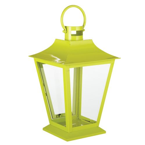 CANVAS Outdoor Metal Lantern, Green Product image