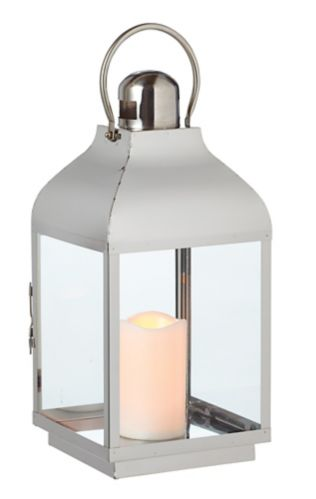 CANVAS Outdoor Lexington Metal Lantern with Candle Product image