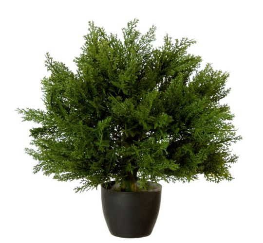 Christmas Tree Store Erie Pa: Artificial Potted Cedar, 15-in