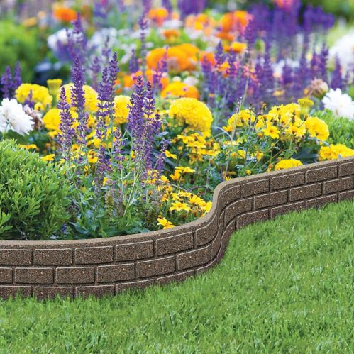 Bordure De Jardin Ultra Flexi Pierre 6 Po X 4 Pi Canadian Tire