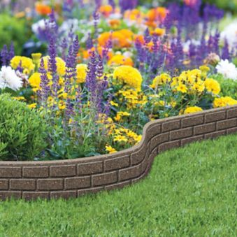 Bordure de jardin Ultra-Flexi, pierre, 6 po x 4 pi | Canadian Tire