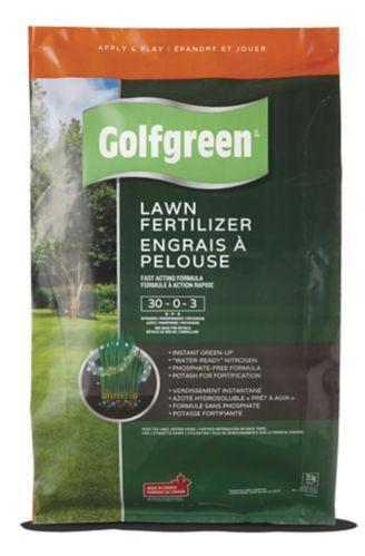 Golfgreen Lawn Fertilizer, 30-0-3, 25-kg