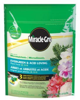 Miracle-Gro Evergreen & Acid Loving Plant Food 28-10-10, 1 36-kg