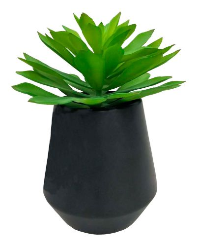 CANVAS Artificial Succulent in Ceramic Pot, 11.5-in Product image