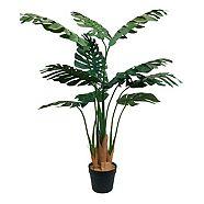 Philodendron artificiel décoratif CANVAS, 40 po
