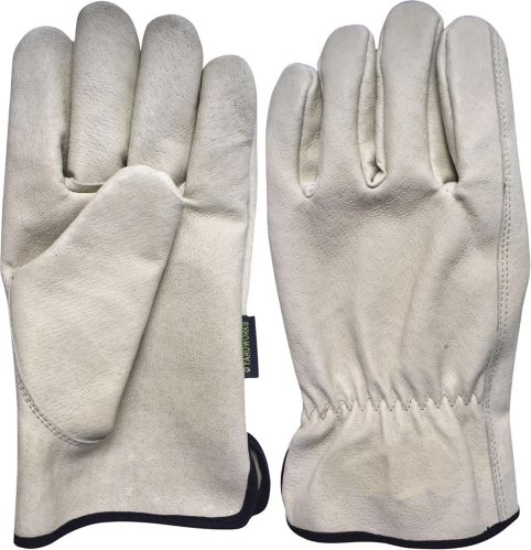 Men's Pigskin Leather Work Gloves