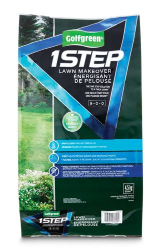 Semence à pelouse Golfgreen Lawn Makeover 1 Step, 4,5 kg Image de l'article