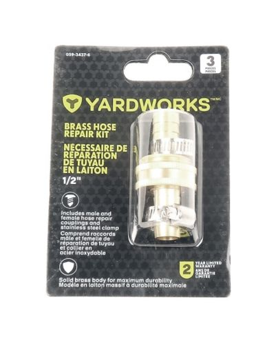 Yardworks Brass Hose Repair Kit 1 2 In, 25 Ft Garden Hose Canadian Tire