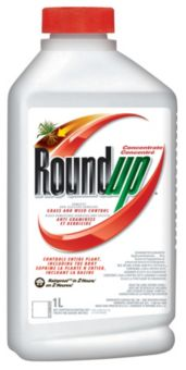RoundUp® Concentrated Grass & Weed Control, 1-L