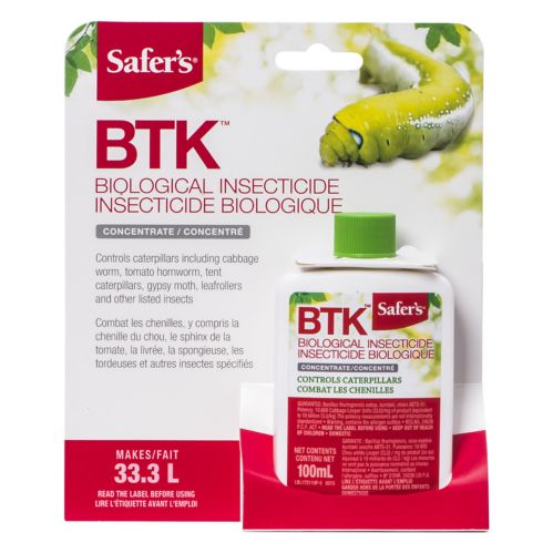 Safer's BTK Insecticide, 100-mL Product image
