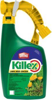 Killex Attach and Spray Lawn Weed Control, 1 L
