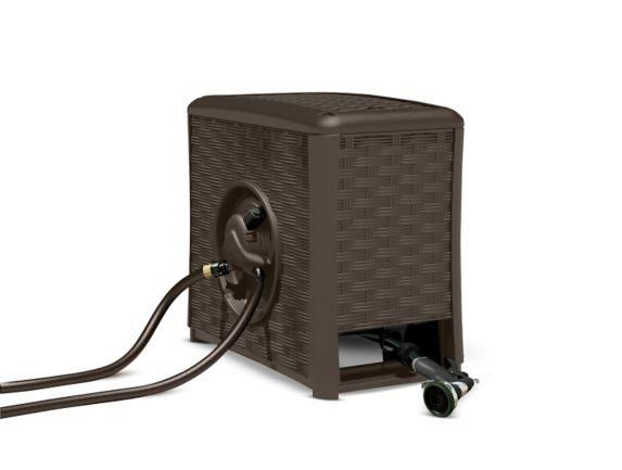 Suncast AquaWinder Auto Rewind Hose Reel, 125-ft Product image