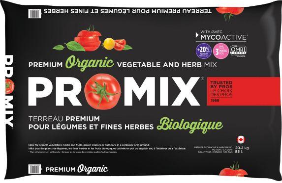 Pro-Mix Organic Vegetable & Herb Mix, 85-L Product image