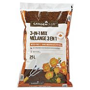 Garden Club 3-in-1 Mix, 25-L