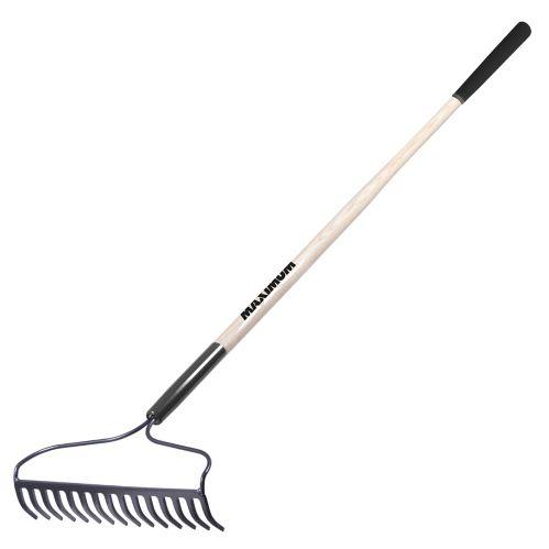 MAXIMUM Long-Handle Bow Rake, 16-Tine Product image