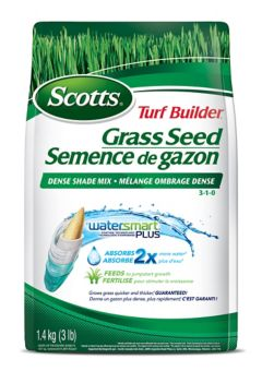 Scotts Turf Builder Coated Gr Seed Dense Shade Mix Canadian Tire