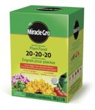 Miracle-Gro® Water Soluble All Purpose Plant Food, 20-20-20, 1.5-lb | Miracle-Gro | Canadian Tire