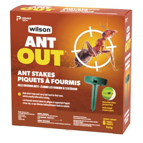 Wilson Ant Out Outdoor Stakes 6 Pk Canadian Tire