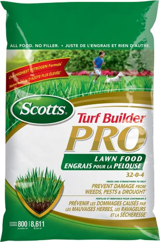 Scotts Turf Builder Pro Lawn Food, 800 m2 Product image