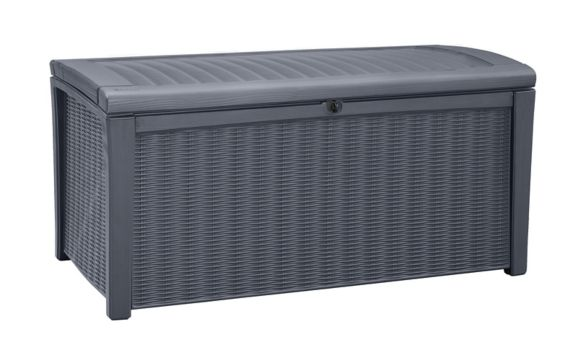 Keter Rattan Style Storage Deck Box, 416-L Product image