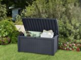 Keter Rattan Style Storage Deck Box, 416-L | Keter | Canadian Tire
