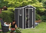 Keter Manor Outdoor Storage Shed, 4-ft x 6-ft | Keter | Canadian Tire