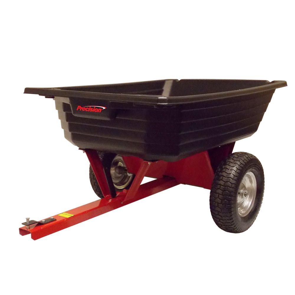 Precision Dump Cart, 650-lb