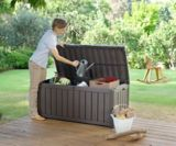 Keter Large Wood-Look Storage Deck Box, 390-L | Keter | Canadian Tire