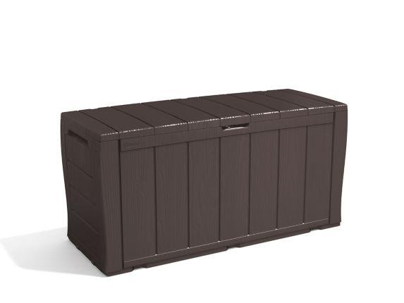 Keter Wood-Look Deck Storage Deck Box, 270-L Product image