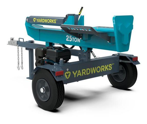 Yardworks 25-Ton Gas Log Splitter