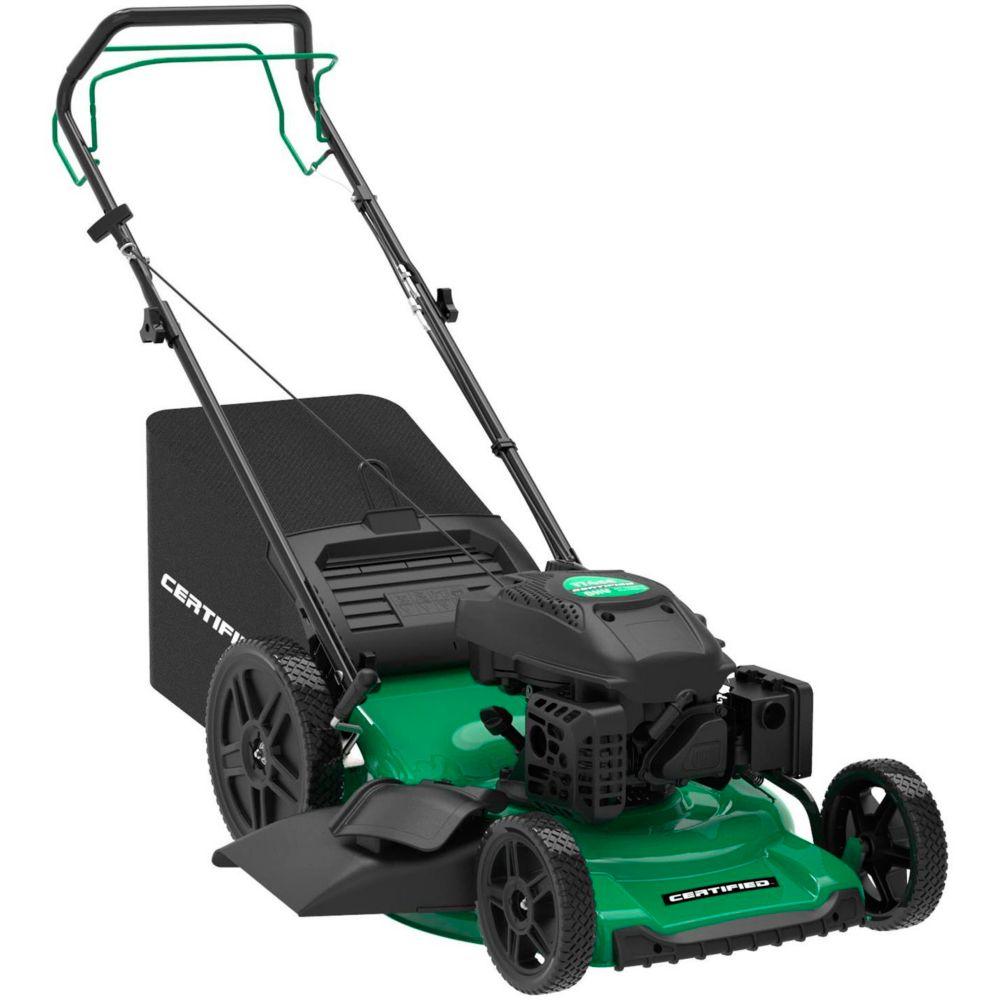 Certified 174cc 3-in-1 Self-Propelled RWD Lawn Mower, 22-in