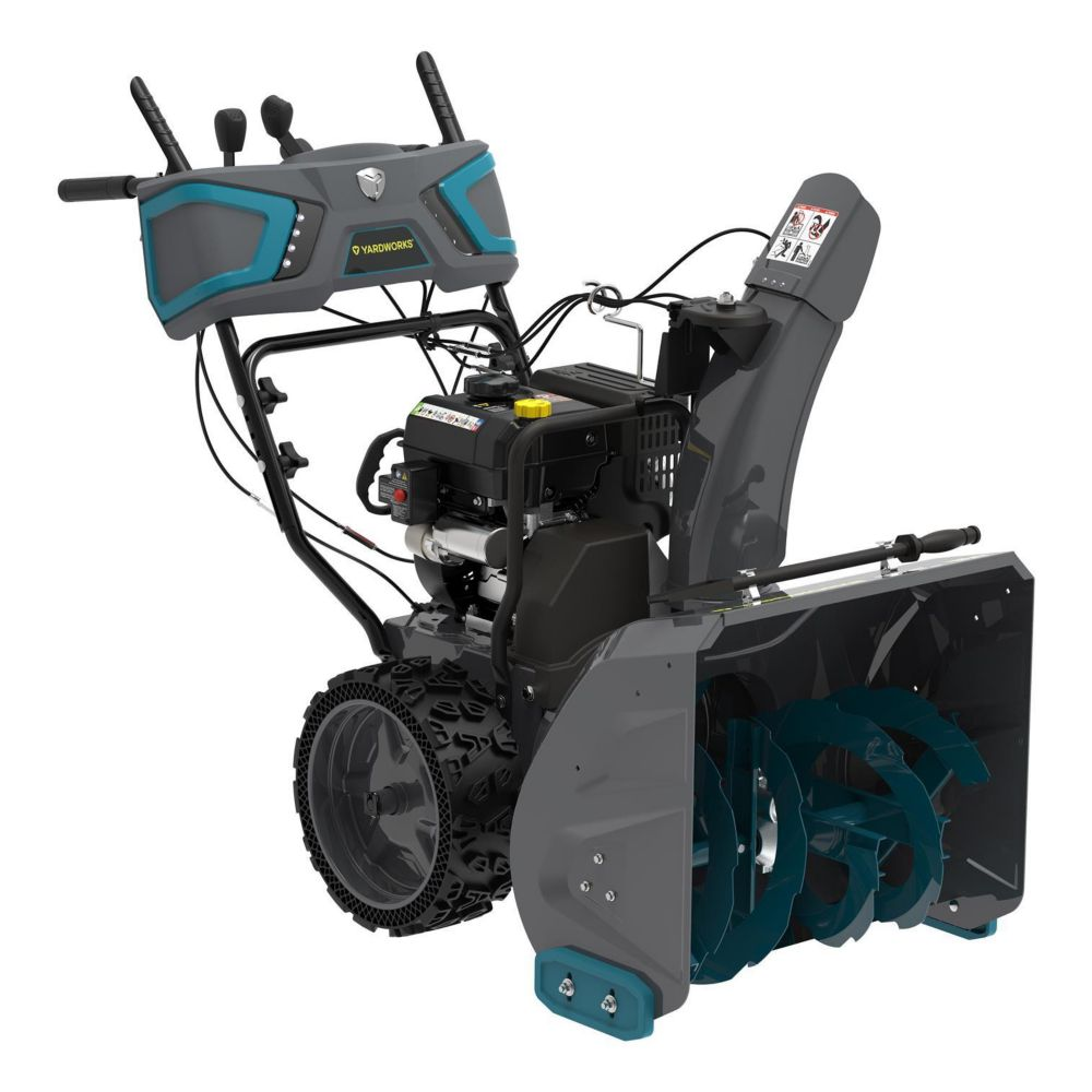 Yardworks 224cc 2-Stage Gas Snowblower, 24-in 100666