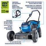 Mastercraft 2x20V Max 4Ah Brushless Lawn Mower Kit, 19-in   Mastercraftnull