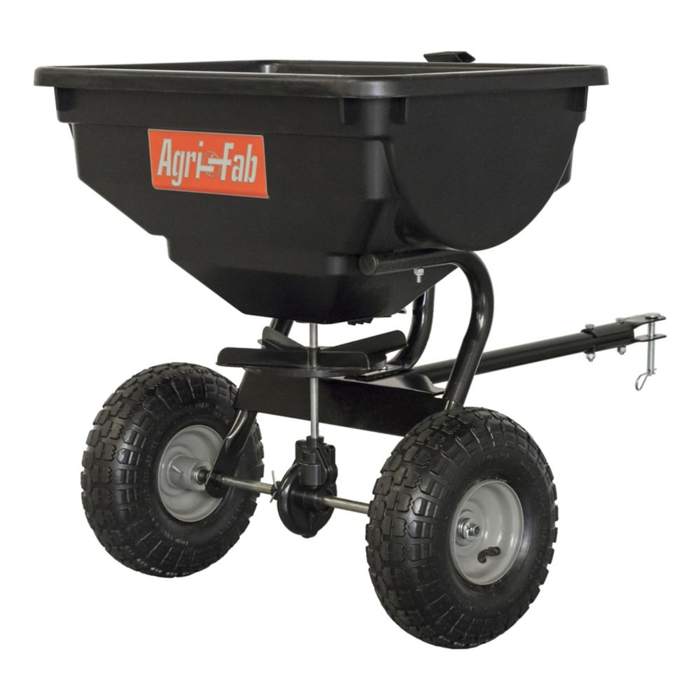Agri-Fab Tow Behind Broadcast Spreader, 85-lb