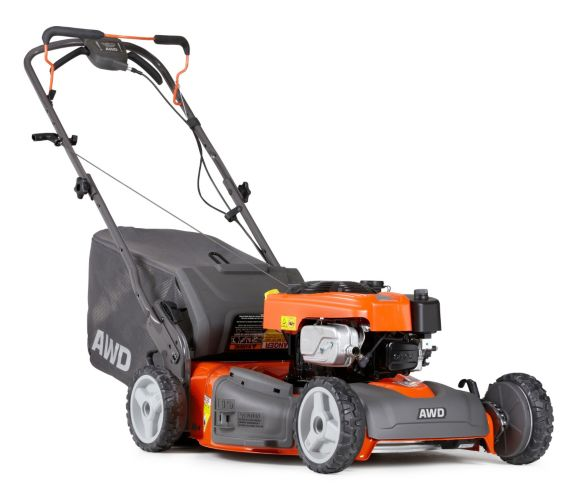 Husqvarna 163cc 3-in-1 All Wheel Drive Gas Lawn Mower, 22-in Product image