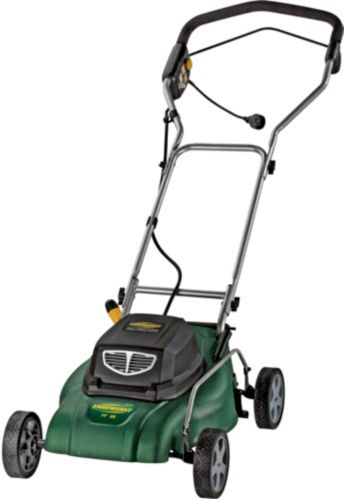 Yardworks 8A 2-in-1 Electric Lawn Mower, 14-in