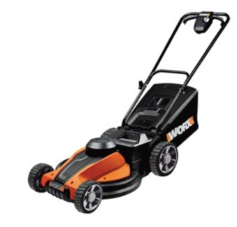 Worx 24V Cordless Lawn Mower, 17-in