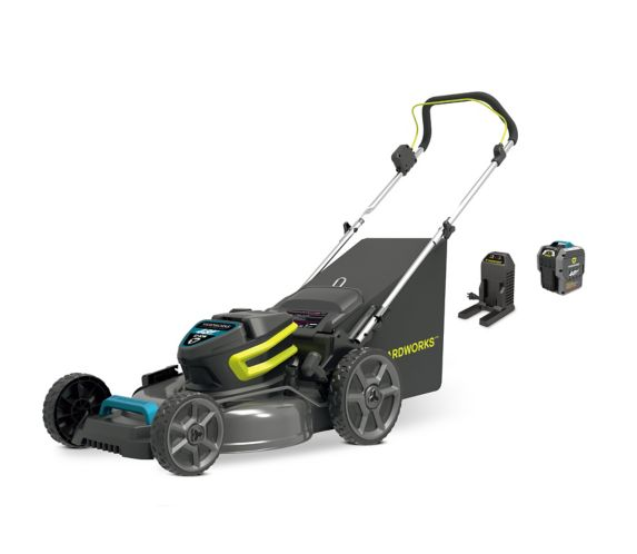 Yardworks 48V 5Ah 3-in-1 Brushless Lawn Mower, 20-in Product image