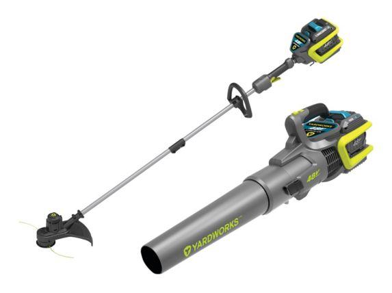 Yardworks 48V 2Ah Blower & Trimmer Combo