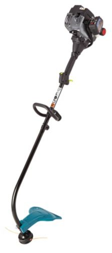 Yardworks 25cc Curved Shaft Gas Grass Trimmer, 17-in